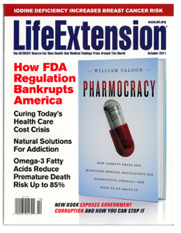 Life Extension Magazine - October 2011 features Dr. Sponaugle